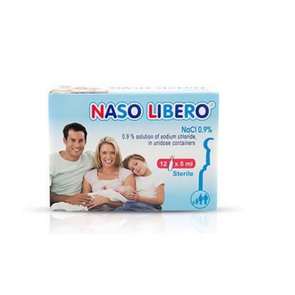 Снимка на NASO LIBERO/НАЗО ЛИБЕРО АМПУЛИ 5 МЛ. Х 12 БР.